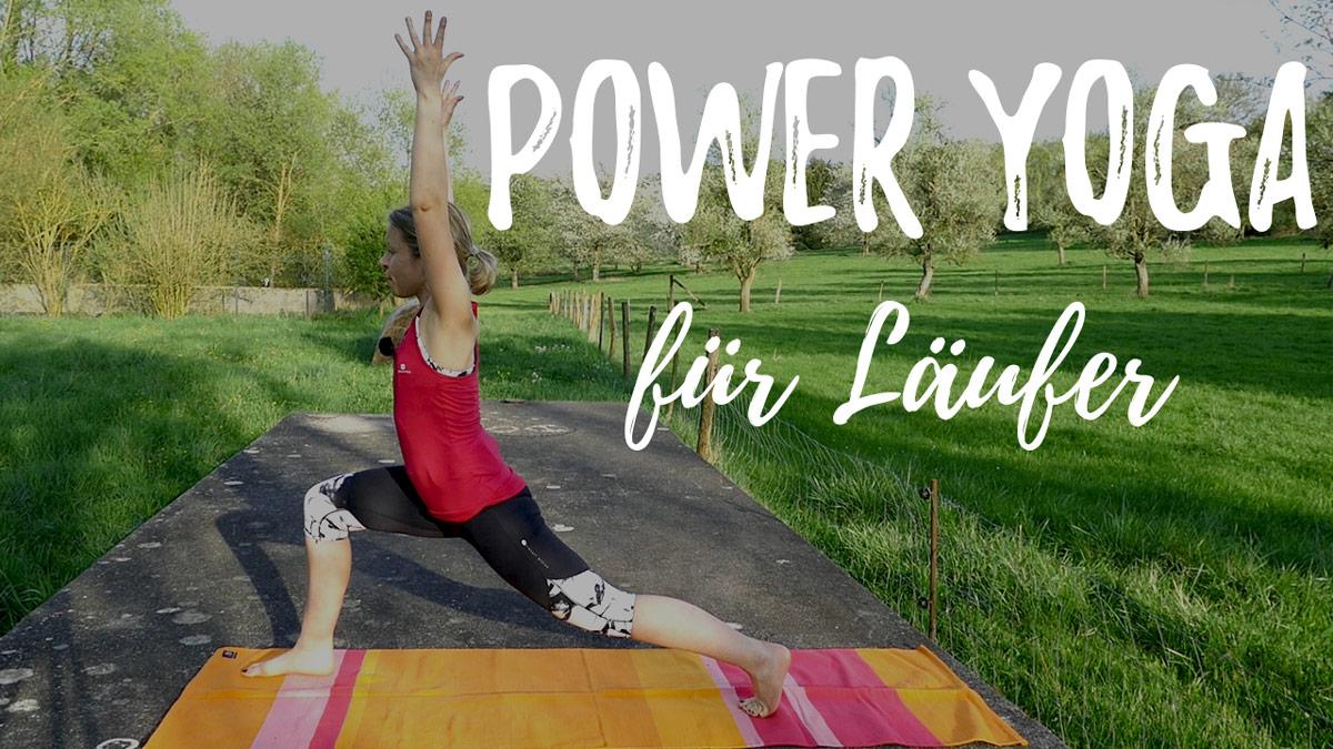Power Yoga für Läufer