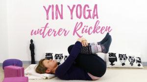 Yin Yoga für den unteren Rücken