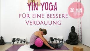 Yin Yoga für eine bessere Verdauung
