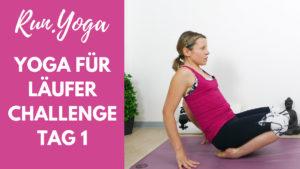 Yoga für Läufer Challenge - Tag 1 Füße und Waden
