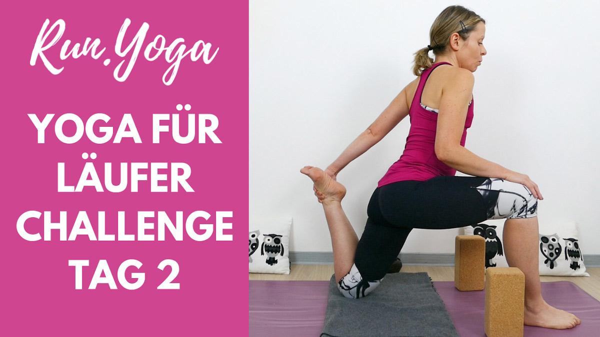 Yoga für Läufer Challenge - Oberschenkel