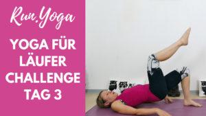 Yoga für Läufer Challenge - Hüften und Po