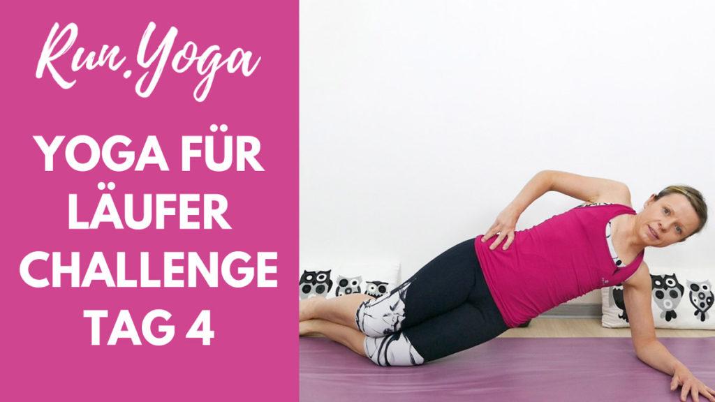 Yoga für Läufer Challenge - Core Yoga für eine starke Körpermitte
