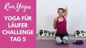 Yoga für Läufer Challenge - Schultern, Nacken, oberer Rücken