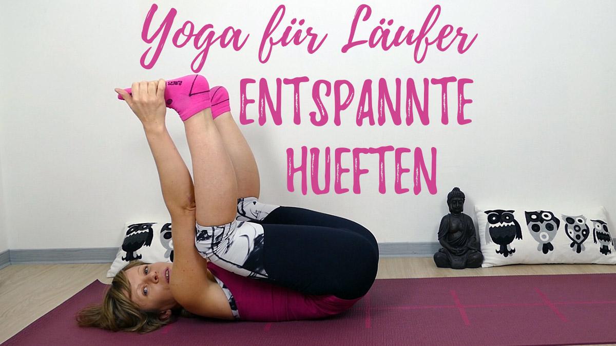 Hüftöffnung für Läufer YIN Yoga Style