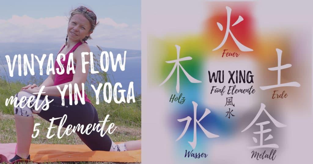 Yin & Yang - Vinyasa meets Yin Yoga für die 5 Elemente