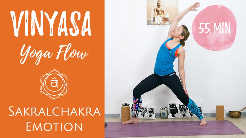 Vinyasa Yoga für das Sakralchakra