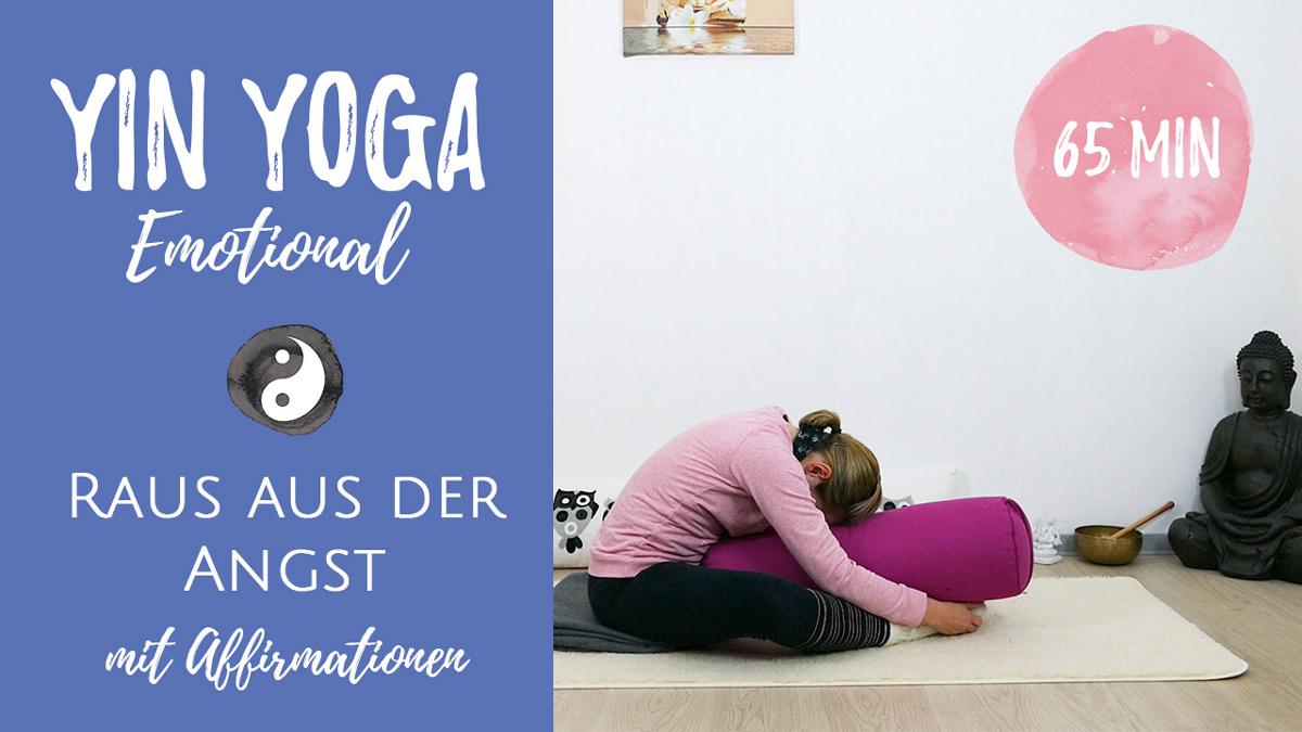 Yin Yoga bei Ängsten und Unsicherheit