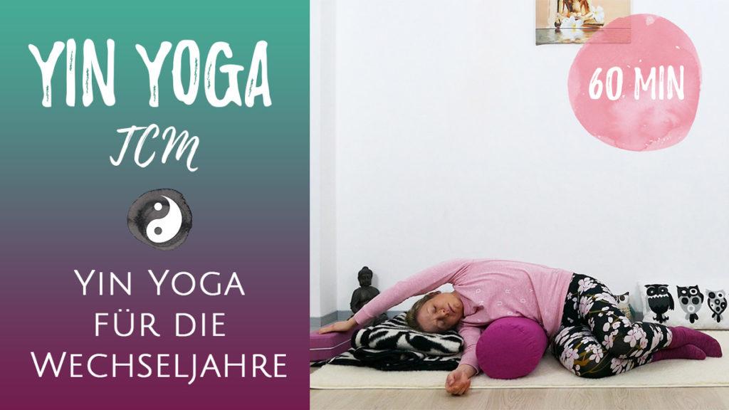 Yin Yoga für die Wechseljahre