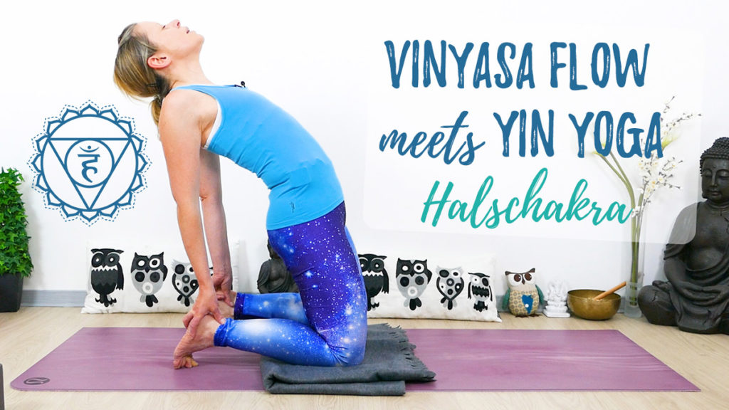 Vinyasa Flow meets Yin Yoga Halschakra - Vishudda