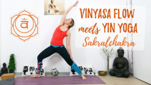 Vinyasa meets Yin Yoga für das Sakralchakra