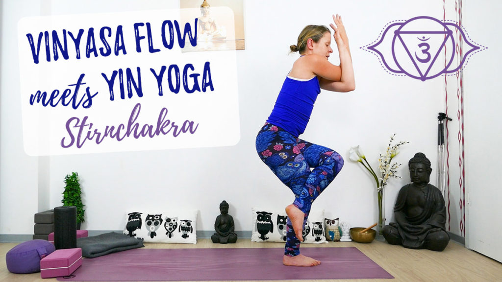 Vinyasa Flow meets Yin Yoga Stirnchakra – Ajna - 3. Auge Chakra
