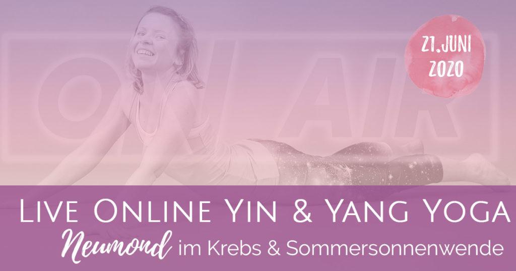 Neumond Yin & Yang Flow zur Sommersonnenwende (Aufzeichnung vom 21.06.)