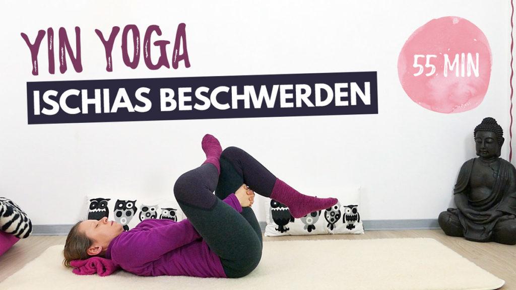 Yin Yoga bei Ischias Beschwerden