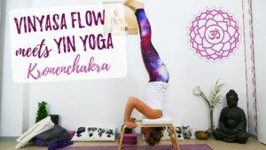 Vinyasa Flow meets Yin Yoga Kronenchakra – Sahasrara
