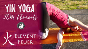 Yin Yoga Element Feuer - Freude & Leidenschaft - Herz & Dünndarm