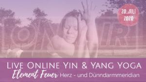 Neumond Yin & Yang Flow Element Feuer