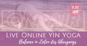 Neumond Live Yin Yoga: Balance in Zeiten des Übergangs - Element Erde
