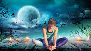 Samhain & Blue Moon Yin & Yang Yoga