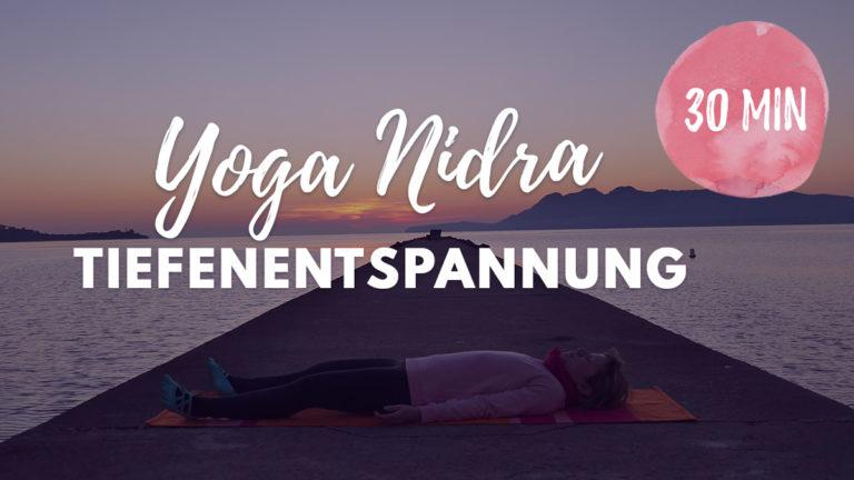 Tiefenentspannung mit Yoga Nidra