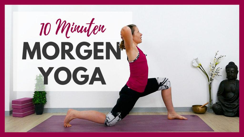 10 min Yoga Morgenroutine für den Oberkörper
