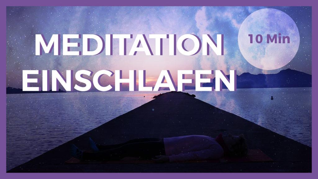 Meditation zum Einschlafen und Durchschlafen