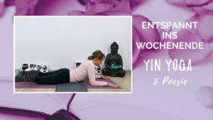 Yin Yoga & Poesie