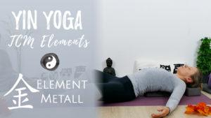 Yin Yoga Element Metall (Herbst) - Loslassen und Selbstwert