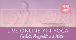 New Moon on Monday Live Yin Yoga – Freiheit, Perspektive und Weite