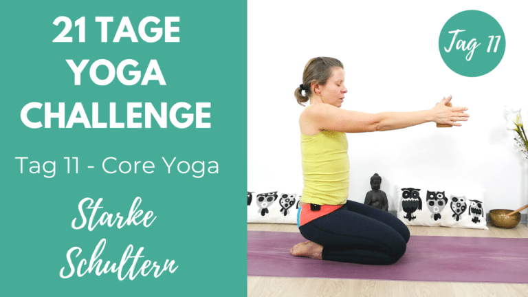 Core Yoga für starke Schultern   21 Tage Yoga Challenge
