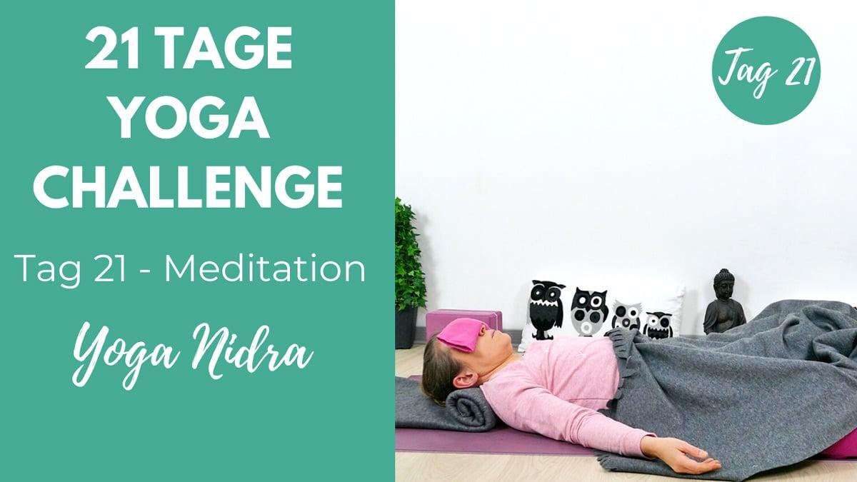 Yoga Nidra | 21 Tage Yoga Challenge