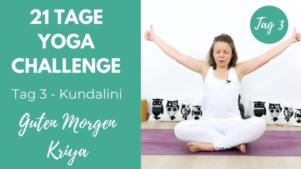 Kundalini Morgen Kriya   21 Tage Challenge