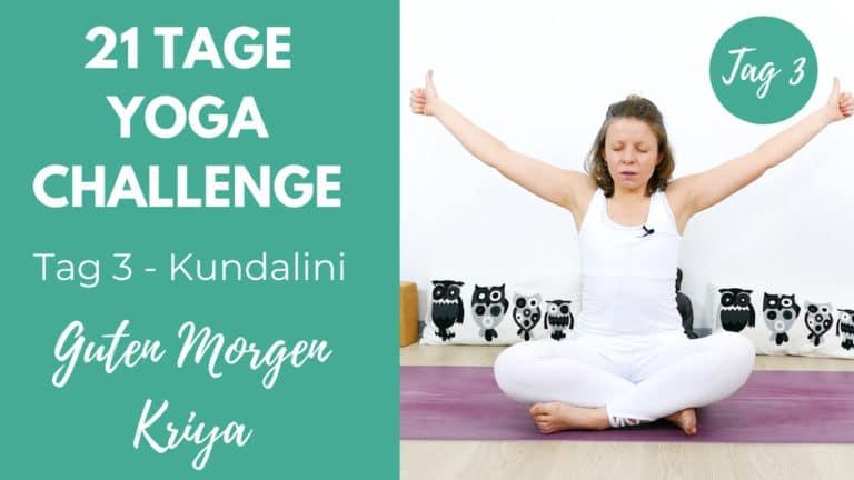 Kundalini Morgen Kriya | 21 Tage Challenge