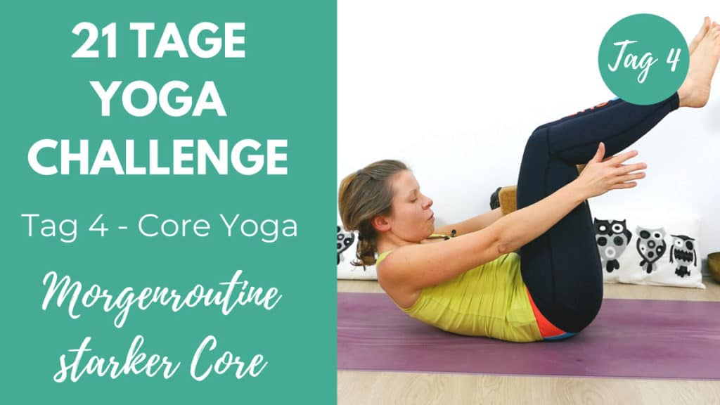 Core Yoga Morgenroutine | 21 Tage Challenge