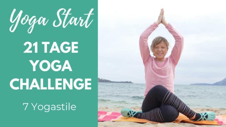 21 Tage Yoga Challenge