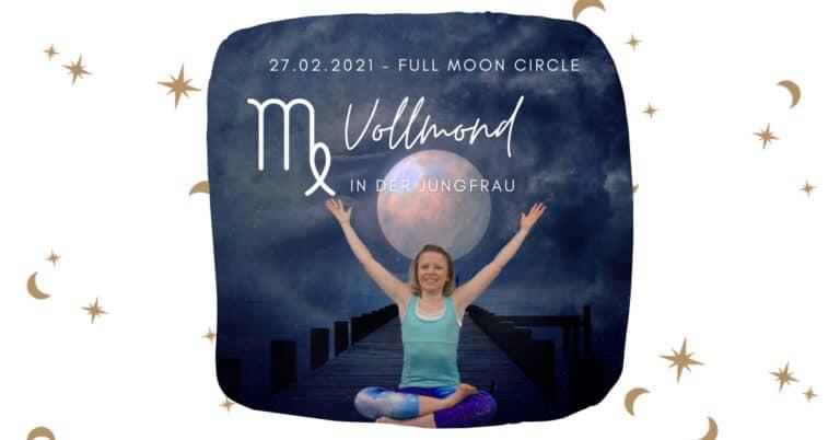 Full Moon Live Yin & Yang Yoga: Vollmond in der Jungfrau