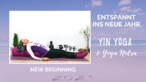 Yin Yoga & Yoga Nidra für das Neue Jahr