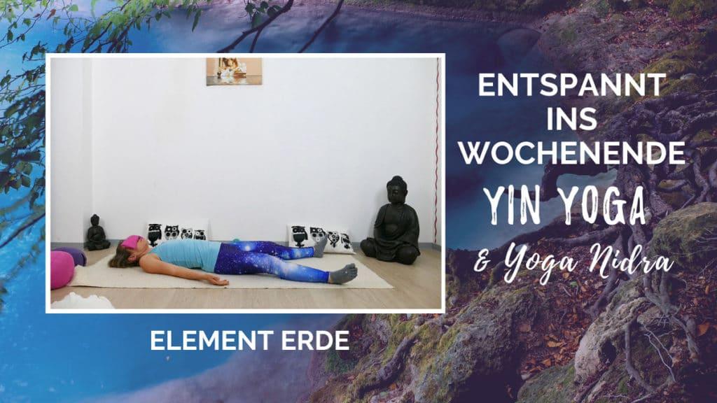 Yin Yoga Element Erde