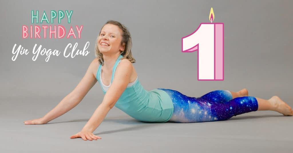 Happy Birthday Yin Yoga Club