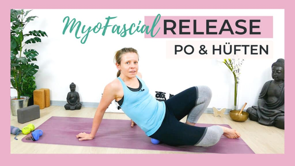 Myofascial Release für Po & Hüften