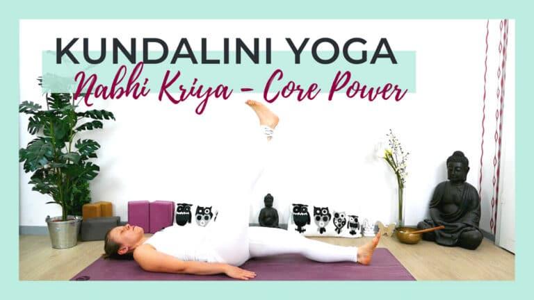Kundalini Yoga Nabhi Kriya- Core Power - Nabelchakra stärken