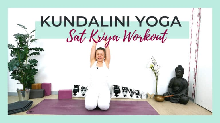 Sat Kriya Workout   Kundalini Yoga