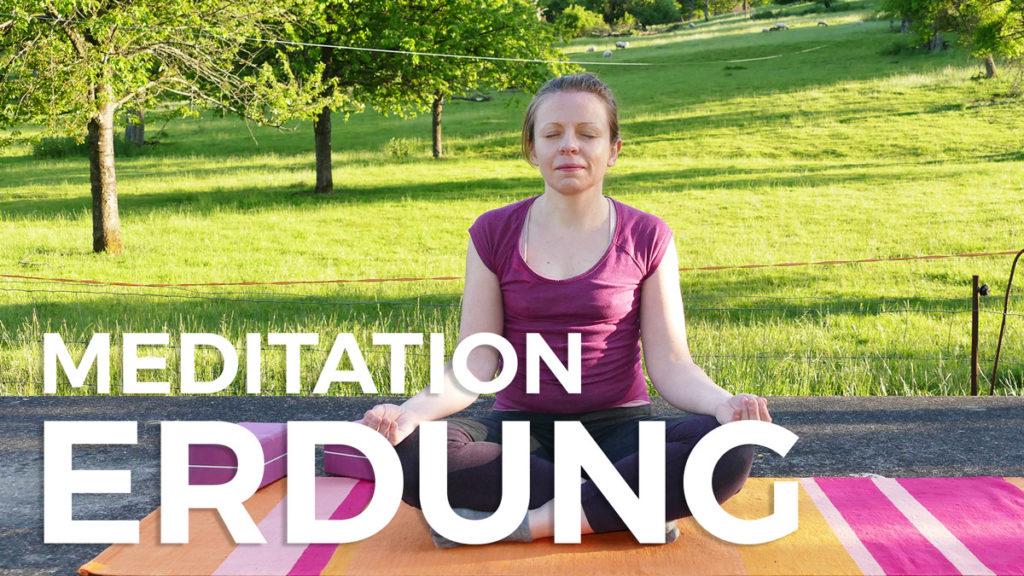 Meditation zur Erdung und Zentrierung bei Angst & Stress