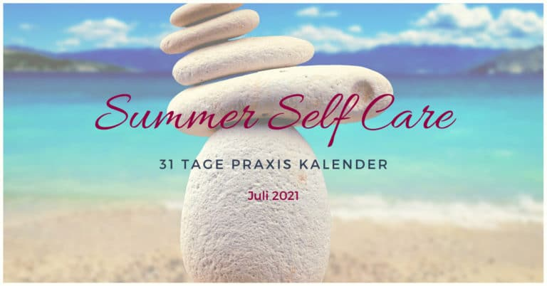Kalender Juli 2021 Summer Self Care