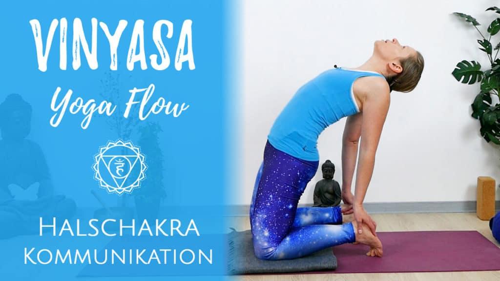 Vinyasa Yoga für das Vishudda Chakra | Authentizität & Selbstbestimmung