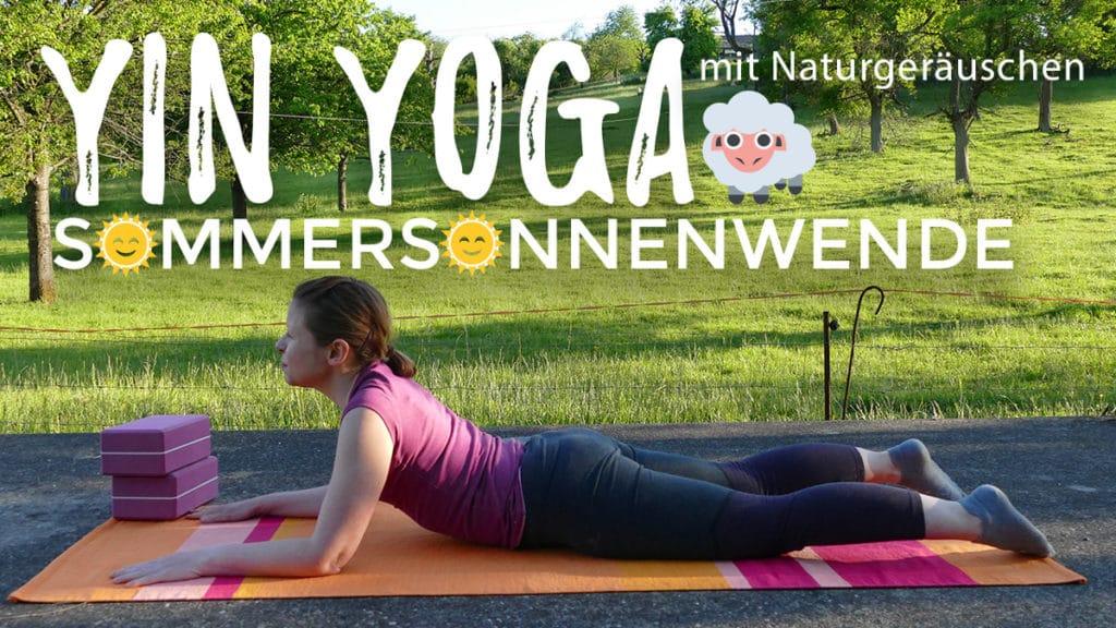 Yin Yoga zur Sommersonnenwende