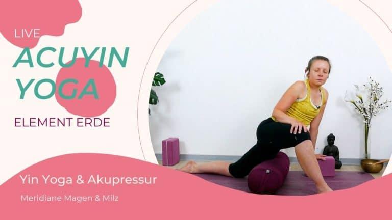 AcuYin Yoga Element Erde (Magen & Milz)