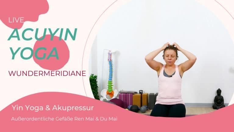 AcuYin Yoga Wundermeridiane Ren Mai & Du Mai