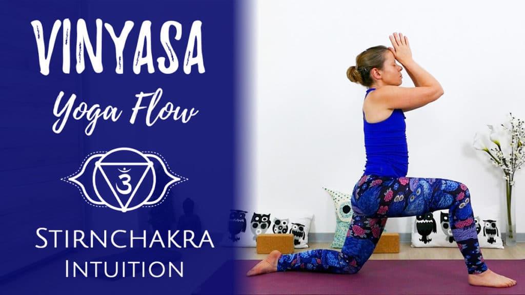 Vinyasa Yoga für das Ajna Chakra