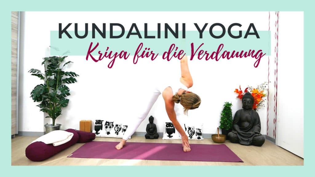 Kundalini Yoga für eine gesunde Verdauung